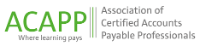 ACAPP - Association of Certified Accounts Payable Professionals