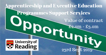 Apprenticeship and Executive Education Programmes Support Services