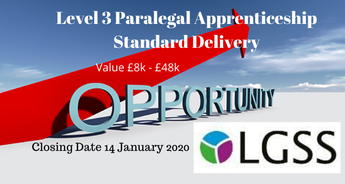 Level 3 Paralegal Apprenticeship Standard Delivery