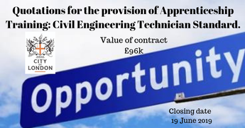 Quotations for the provision of Apprenticeship Training: Civil Engineering Technician Standard
