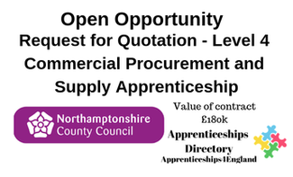 Request for Quotation - Level 4 Commercial Procurement and Supply Apprenticeship
