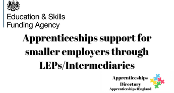 Apprenticeships support for smaller employers through LEPs/Intermediaries