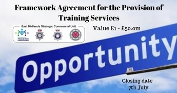 Framework Agreement for the Provision of Training Services