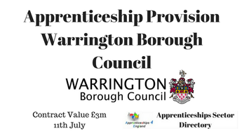 Apprenticeship Provision: Warrington Borough Council