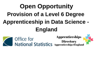 Provision of a Level 6 Degree Apprenticeship in Data Science - England