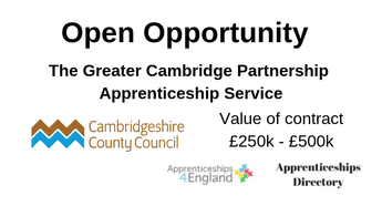 The Greater Cambridge Partnership Apprenticeship Service