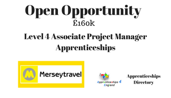 Level 4 Associate Project Manager Apprenticeships Closing date 20/8/2018