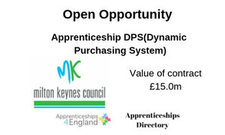 Apprenticeship DPS(Dynamic Purchasing System)