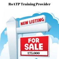 RoATP Training Provider for sale
