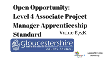 Open Opportunity: Delivery of the Level 4 Associate Project Manager Apprenticeship Standard