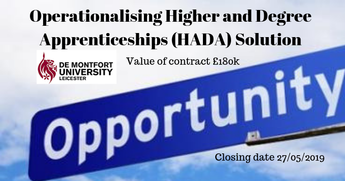 Operationalising Higher and Degree Apprenticeships (HADA) Solution