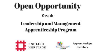 English Heritage (EH) Leadership and Management Apprenticeship Program