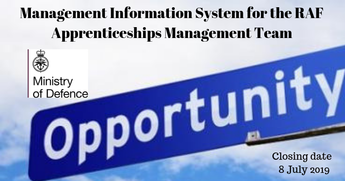 The Royal Air Force is seeking a Management Information System (MIS) for the RAF Apprenticeships Management Team (AMT) that will facilitate timely and accurate Individualised Learner Records (ILR) Returns to the Skills Funding Authority, track learner pro