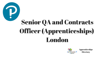 Senior QA and Contracts Officer (Apprenticeships)