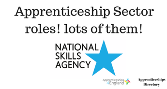 Apprenticeship Sector roles! lots of them!