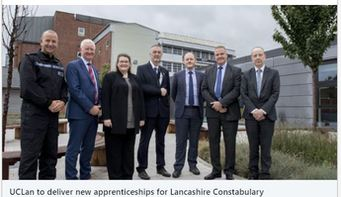 University of Central Lancashire (UCLan) has today announced plans to deliver new #apprenticeships for Lancashire #Constabulary.