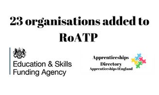 First providers added to refreshed apprenticeship register