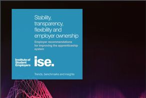 A Must READ: The ISE have released a report 'Stability, transparency, flexibility and employer ownership' which highlights the challenges ISE members face related to the apprenticeship system and levy.