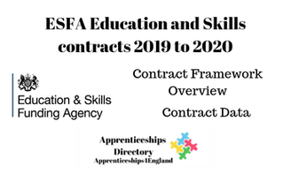 ESFA Education and Skills contracts 2019 to 2020