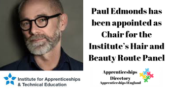 WORLD-RENOWNED HAIR STYLIST TO THE STARS CHOSEN FOR KEY HAIR AND BEAUTY APPRENTICESHIPS ROLE