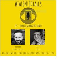 Ep 5 of #talentedtales sees us talk to one of the most down to earth, knowledgeable and yet charismatic people in the industry Chris Jones.