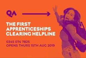 This morning QA  are #launching the UK's #first #Apprenticeship clearing helpline for #resultsday!   Our QA Ltd teams are looking forward to #empowering young people to make their #career #choices.