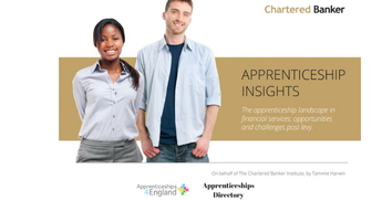 APPRENTICESHIP INSIGHTS The apprenticeship landscape in financial services: opportunities and challenges post levy