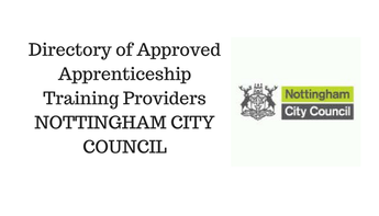 Directory of Approved Apprenticeship Training Providers NOTTINGHAM CITY COUNCIL