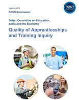 NOCN Submission: Select Committee on Education, Skills and the Economy:  Quality of Apprenticeships and Training Inquiry