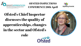 Ofsted's Chief Inspector discusses the quality of apprenticeships, changes in the sector and Ofsted's role