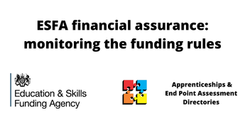 ESFA financial assurance: monitoring the funding rules