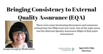Bringing Consistency to External Quality Assurance (EQA)