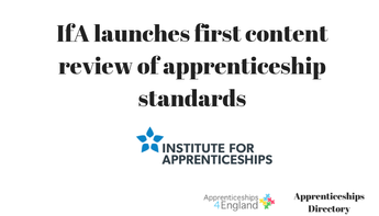 APPRENTICESHIP STANDARDS STATUTORY REVIEW