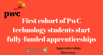 First cohort of PwC technology students start fully-funded apprenticeships
