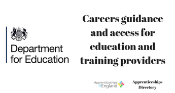 Careers guidance and access for education and training providers