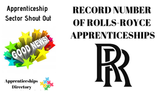 RECORD NUMBER OF ROLLS-ROYCE APPRENTICESHIPS