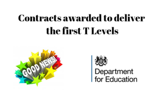 Contracts awarded to deliver the first T Levels (Apprenticeships Directory)