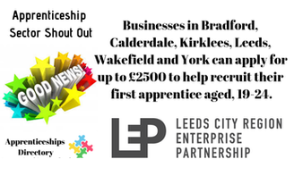 The Leeds City Region Enterprise Partnership announces plans to ensure more businesses benefit from recruiting an apprentice