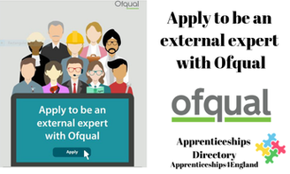Apply to be an external expert with Ofqual (Apprenticeships Directory)