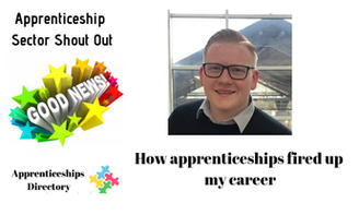 How apprenticeships fired up my career