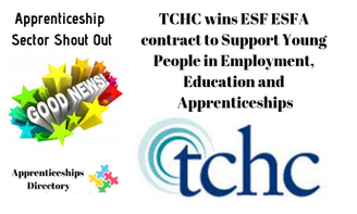 TCHC wins ESF ESFA contract to Support Young People in Employment, Education and Apprenticeships