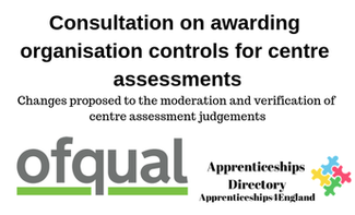 Consultation on awarding organisation controls for centre assessments