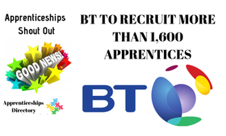BT TO RECRUIT MORE THAN 1,600 APPRENTICES AHEAD OF 5G ROLLOUT