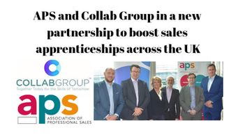 APS and Collab Group in a new partnership to boost sales apprenticeships across the UK