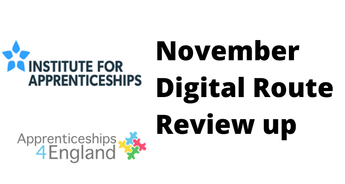 November Digital Route Review update (apprenticeships directory)