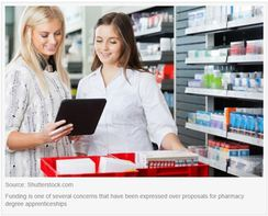 Pharmacy apprenticeships paused again to address 'misconceptions'