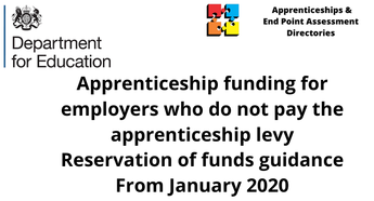 Apprenticeship funding for employers who do not pay the apprenticeship levy