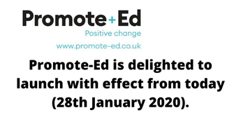 Promote-Ed has Launched! ).