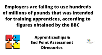 What needs to change? To make employers use levy money on Apprenticeships
