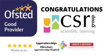 Congratulations CSR Scientific Training Limited Ofsted Good